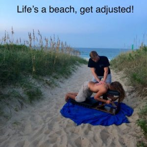 Life's a beach, get adjusted!